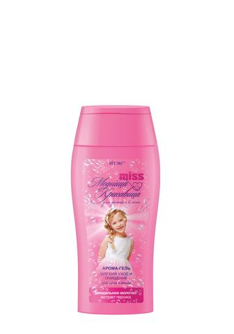 Витэкс Модница-красавица Арома-гель «Мягкий уход и очищение» для душа и ванны 300 мл