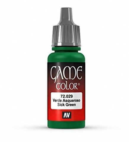 Game Color Sick Green 17 ml.
