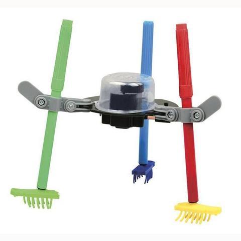 Электромеханический конструктор ND Play На элементах питания Робот-художник 3 в 1