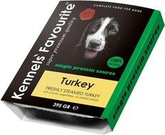 Влажный корм для собак всех пород и возрастов Kennels`Favourite 100% Turkey Свежепареное мясо с индейкой