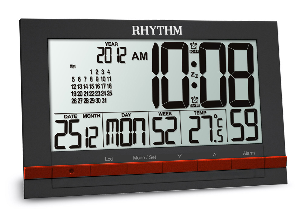 Часы-будильник Rhythm LCT073NR02
