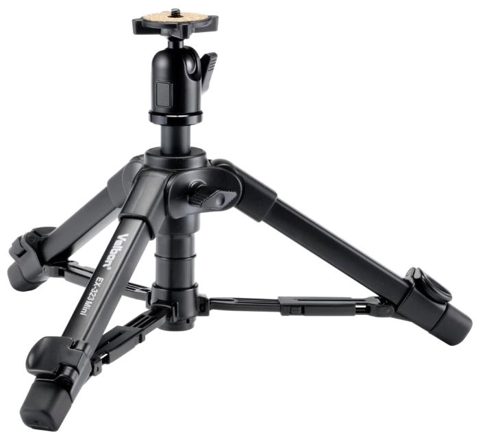 Velbon EX-323 Mini (Мини штатив для фотоаппаратов и фотокамер Canon, Nikon, Sony)