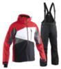 Мужской горнолыжный костюм 8848 Altitude 711003-710708 красный-черный
