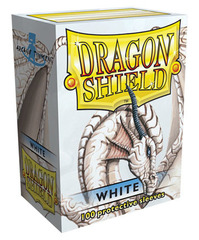 Dragon Shield - Белые протекторы 100 штук