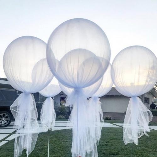 Большой прозрачный шар 90 см. (2 фото)