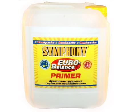 SYMPHONY EURO-Balance PRIMER - акриловая грунтовка глубокого проникновения с антисептирующими добавками