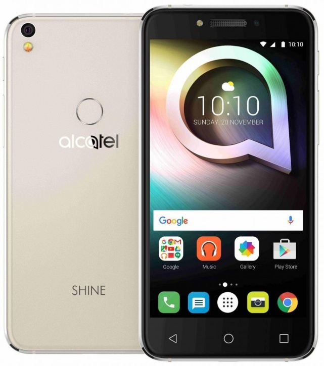 Смартфон Alcatel Shine Lite 5080X Gold
