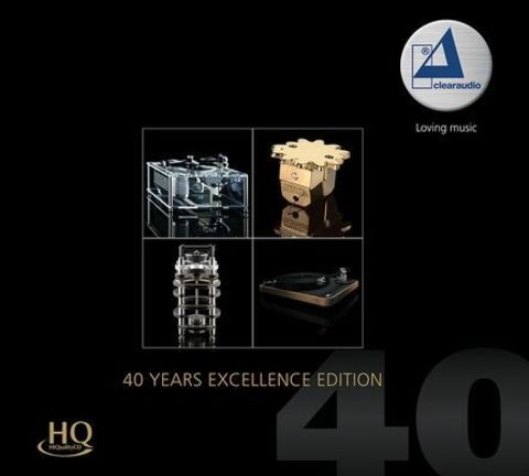 Inakustik CD, Clearaudio - 40 Years Excellence Edition, 0167805