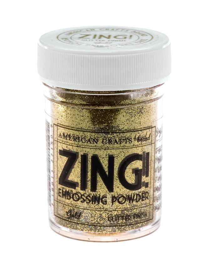 Пудра для эмбоссинга ZING! Gold Glitter