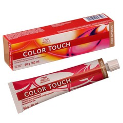 WELLA color touch   6/7 темный блонд коричневый 60мл (интенс.тонирование)