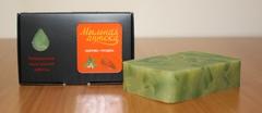 Мыло натуральное /органика/ КРАПИВА с  маслом сладкого миндаля в упаковке/ ТМ ИСКУСЪ
