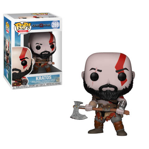 Фигурка Funko POP! Vinyl: Games: God of War: Kratos 27031