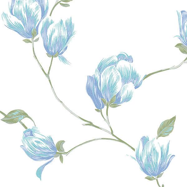 Обои Aura English Florals G34325, интернет магазин Волео
