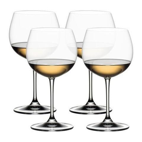 Набор бокалов для белого вина 4шт 552мл Riedel Vinum XL Pay 3 Get 4 Oaked Chardonnay