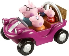 Игровой набор «Спортивная машина», Peppa Pig