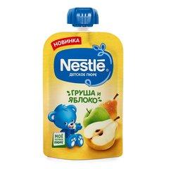 """Пюре детское """"Nestle"""" Груша и яблоко пауч 90г"""