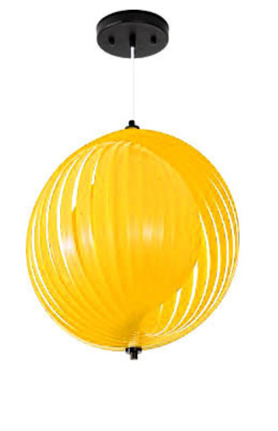replica Verner Panton Moon Simple pendant lamp (yellow)
