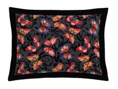 Наволочка декоративная 50x70 шенилловая Feiler Papillon черная