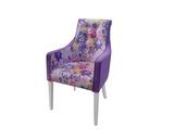 Кресло Патиссон-В со стеклянными пуговицами