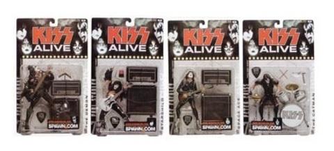 KISS Alive Super Stage Figures