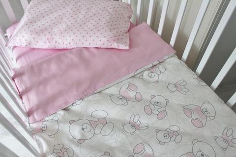 Комплект постельного белья Сонный мишка