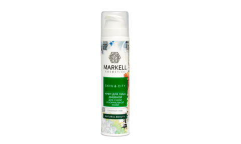 Markell Skin&City Крем для лица Ночной для сухой и нормальной кожи Снежный гриб 50мл