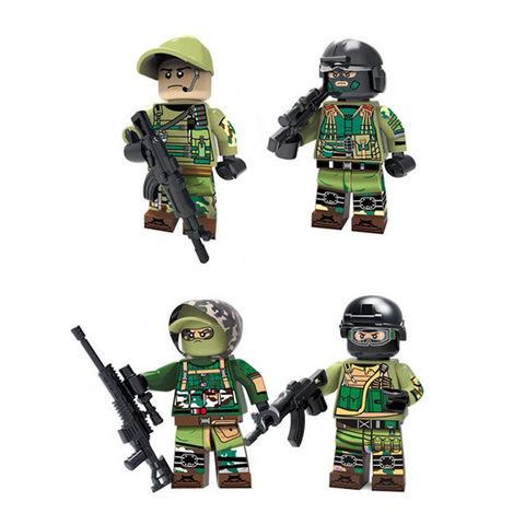 Минифигурки Военных Антитеррористическая группа серия 382
