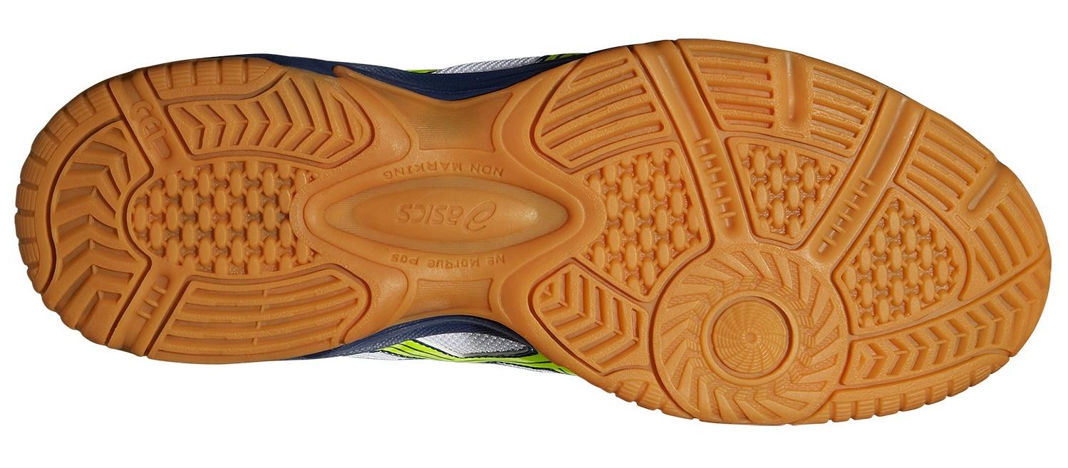 Мужские волейбольные кроссовки Asics Gel-VisionCourt (B40NQ 0104) белые фото