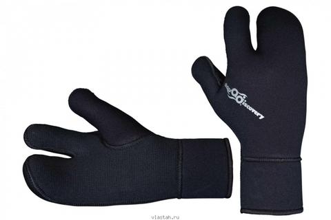Перчатки AquaDiscovery Classic 3-х палые 9 мм