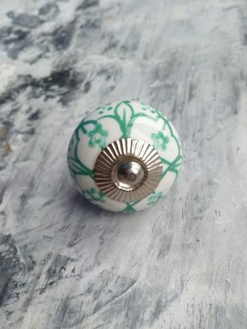 Ручка мебельная керамическая  расписная √62, 00001062