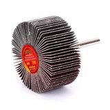 Круг MESSER шлифовальный лепестковый с оправкой (на шпильке) 60х30х6  #80