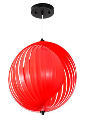 replica Verner Panton Moon Simple pendant lamp (rad)