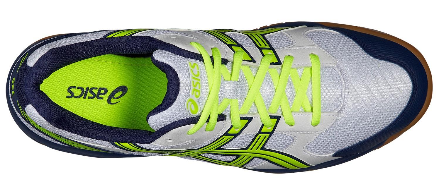 Мужские волейбольные кроссовки Асикс Gel-VisionCourt (B40NQ 0104) белые фото