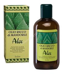 Ardes Масло обогащенное миндалем и Алое (Olio Ricco di Mandorle Aloe), 250 мл