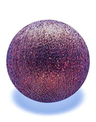 Хлопковый шарик Серебряный