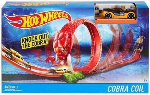 Гоночный трек HOT WHEELS Adventure Snake Nest 3090