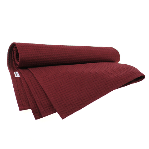 Полотенце банное Daribo SuperWaffle Burgundy, 70x150 см DA78114