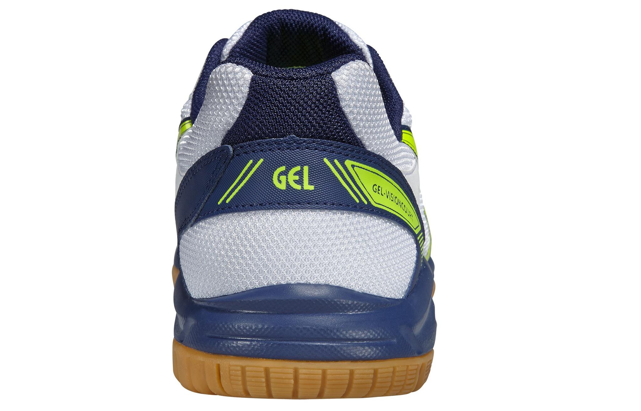 Мужские кроссовки для волейбола Asics Gel-VisionCourt (B40NQ 0104) белые фото