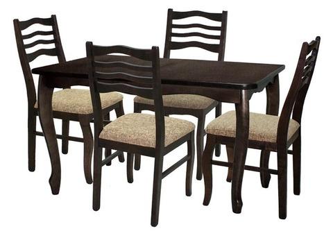 Обеденный стол раздвижной СО2 деревянный Венге