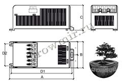 Моноблочная пускорегулирующая аппаратура для металлогалогенных и  натриевых ламп высокого давления
