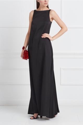 Платье черное ПЛАМЯ