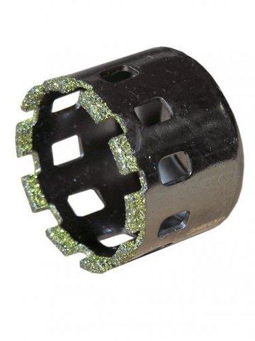 Коронка д/керамогранита ф54мм алмазная мокр. рез