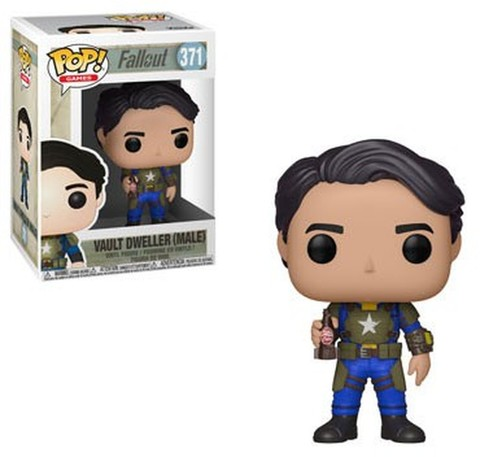 POP! Games 371: Fallout - Vault Dweller Male
