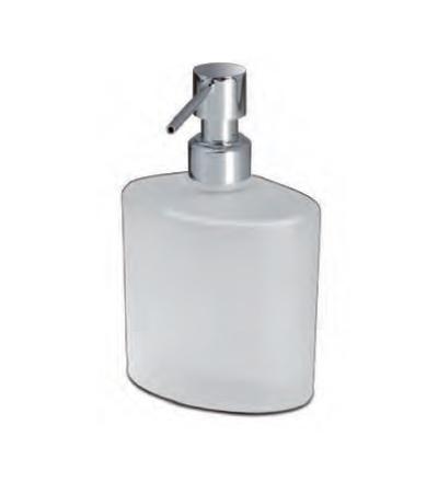 Дозатор для мыла 90308MCR Oval Frozen crystal glass от Windisch