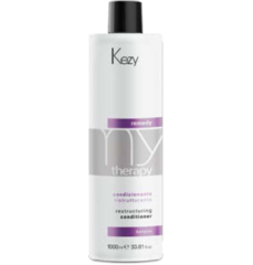 KEZY mytherapy remedy keratin Restructuring conditioner Кондиционер реструктурирующий c кератином 250  мл.
