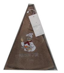 Полотенце махровое круглое 70х70 MAXI BOX - МАКСИ БОКС  Maison Dor (Турция)