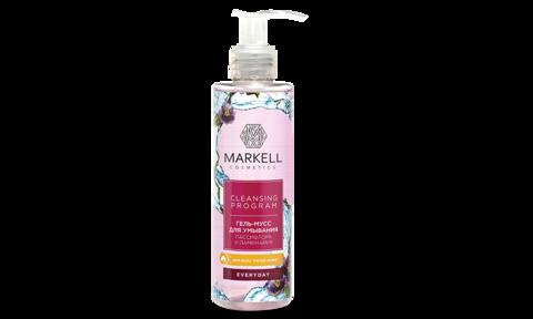 Markell Cleansing Program Гель-мусс для умывания пассифлора и ламинария д/всех типов кожи 200мл