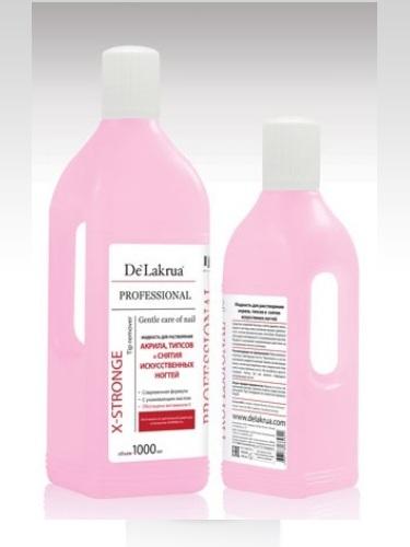 Жидкость для снятия акрила De Lakrua 500мл