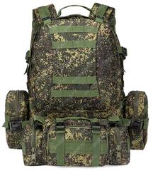 Тактический рюкзак 4 в 1 Cool Walker 001 Флора Цифра (ЕМР РФ)
