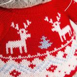 Кот Басик в свитере с оленями